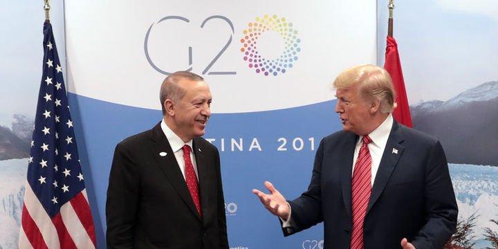 Erdoğan-Trump görüşmesinde gündemin ana maddesi Suriye