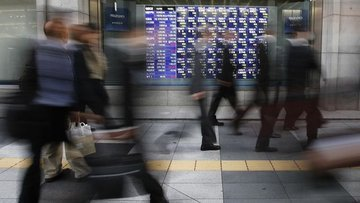 Asya hisseri senetleri 'Hong Kong'daki yüksek tansiyonla'...