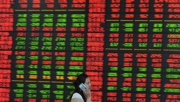 Asya borsaları 'Çin verileri ve Hong Kong' protestolarıyl...