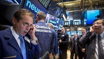 """Küresel Piyasalar: Hisseler ve tahvil faizleri """"ticaret a..."""
