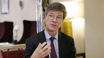 """Jeffrey Sachs'tan """"Türkiye'nin küresel refah için önemine..."""