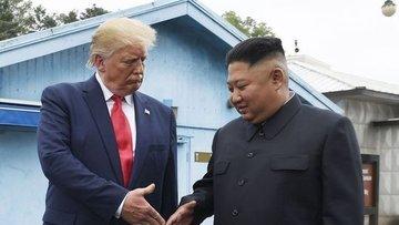 """Trump'tan Kuzey Kore'ye """"anlaşma yap"""" çağrısı"""