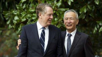 Liu He, Robert Lighthizer'ı Çin'e davet etti