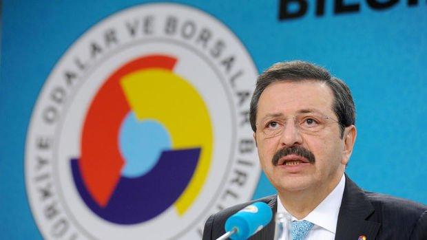 TOBB/Hisarcıklıoğlu: Ekonomide büyüme sürecinin başladığına dair ilk somut işaret gelmiş oldu