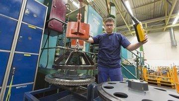 Almanya'da fabrika siparişleri Kasım'da düşüşünü sürdürdü