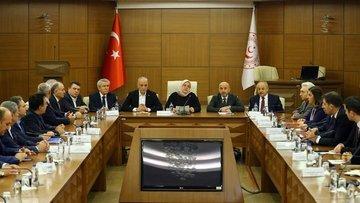 Asgari Ücret Tespit Komisyonunun ikinci toplantısının gün...