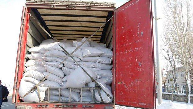 Sınırda 20 ton kaçak çay ele geçirildi