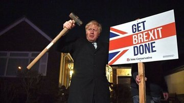 İngiltere'de Muhafazakar Parti açık farkla önde, Corbyn g...