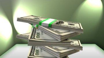 Dolar/TL son işlem gününde düşüşte