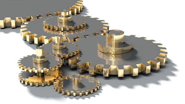 Sanayi üretimi Ekim'de aylık % 0.9 düştü, yıllık % 3.8 arttı