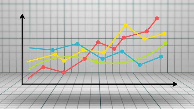 YD-ÜFE Kasım'da aylık bazda düştü, yıllık bazda arttı