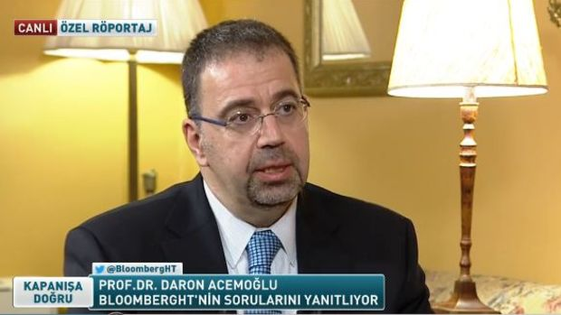 Prof. Daron Acemoğlu: Dünya ekonomisinin birçok problemi var