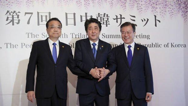 Çin, Güney Kore ve Japonya üçlü zirve gerçekleştirecek