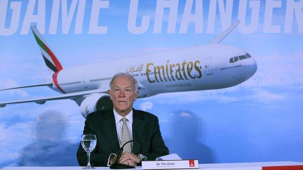 Emirates'in efsane başkanı Clark emekli oluyor