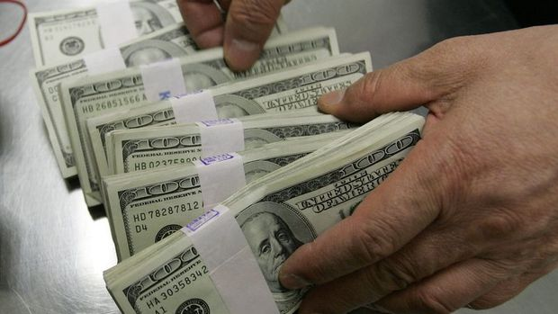 Yurt içi yerleşiklerin döviz mevduatı 544 milyon dolar azaldı
