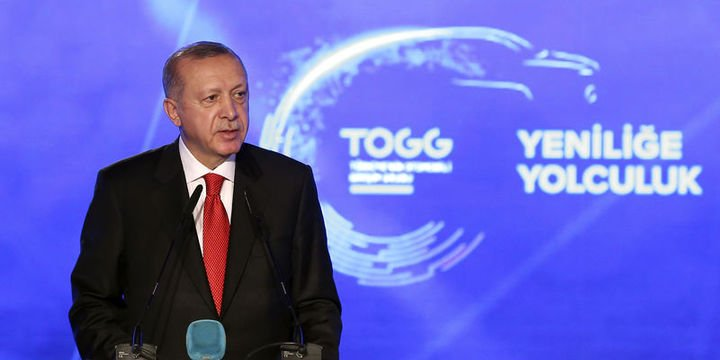 Image result for togg erdoğan