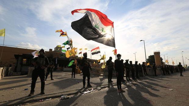 Irak ordusu: Tüm protestocular ABD Büyükelçiliği önünden çekildi