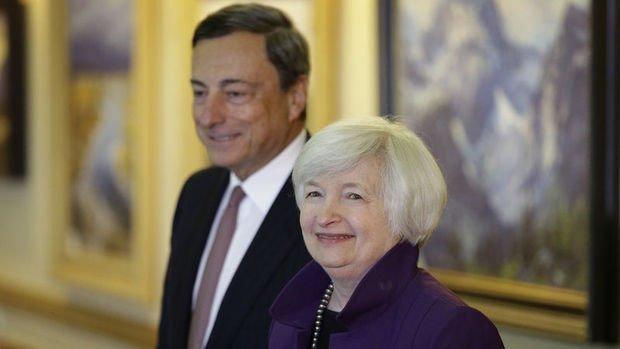 Yellen ve Draghi'den