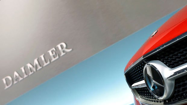 Hissedarlardan Daimler'e yaklaşık 900 milyon euroluk dizel davası