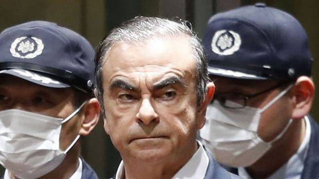 Japonya'da savcılar, Ghosn'un avukatının ofisinde arama yaptı