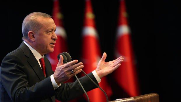 Erdoğan: Kanal İstanbul projesini de çok yakında başlatıyoruz