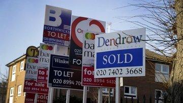 İngiltere'de konut fiyatları en yüksek Ocak yükselişini g...