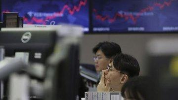 Asya borsaları Hong Kong öncülüğünde geriledi