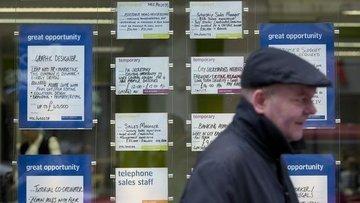 """İngiltere'de işgücü piyasası """"faiz kararı"""" yaklaşırken gü..."""