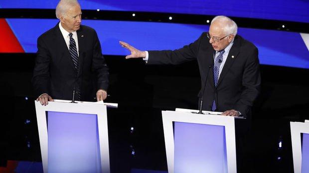 Demokratların 2020 yarışında Sanders rakibi Biden'ı geçti