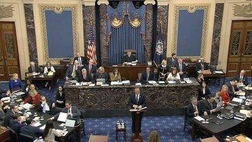 Trump'ın Senato'daki azil yargılamasında 2. gün sona erdi