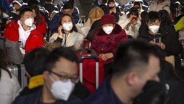 Çin'den Türkiye'ye gelen yolcular termal kameralarla tara...
