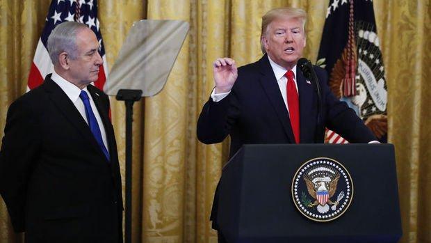 ABD Başkanı Trump 'Ortadoğu Planı'nı açıkladı