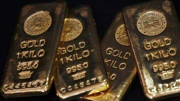 """Altın """"güvenli liman"""" talebinin azalması ile kaybını korudu"""