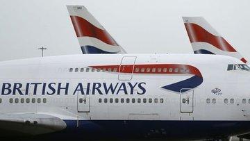British Airways Koronavirüs salgını nedeniyle Çin'e tüm u...