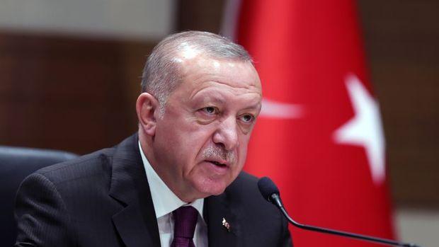"""Erdoğan: Trump """"ikili ticareti 100 milyar dolara çıkarma çalışmalarını hızlandırmalıyız"""" dedi"""