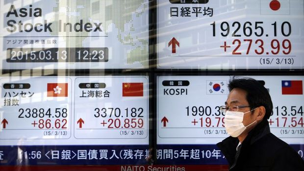 Asya hisse senetleri yedi haftanın en düşüğüne geriledi
