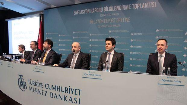 TCMB'nin 2020 enflasyon tahmini % 8.2 olarak kaldı
