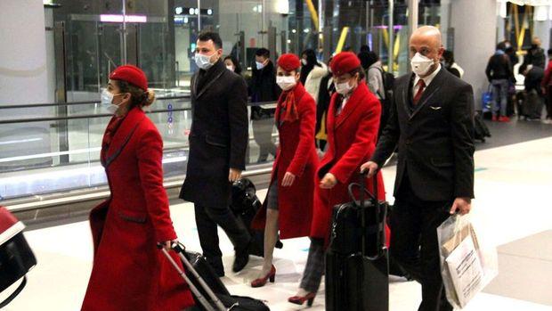 THY koronavirüs nedeniyle Çin seferlerini 9 Şubat'a kadar durdurdu