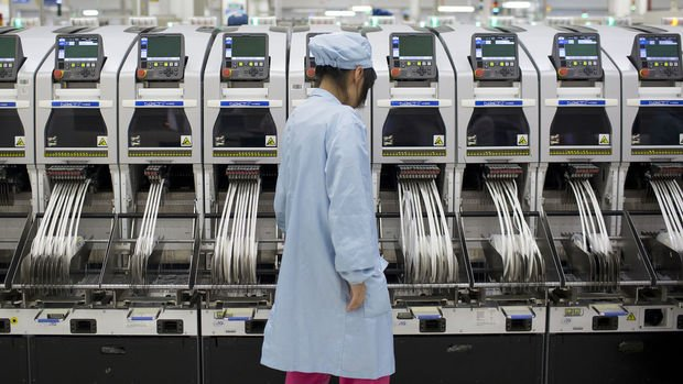 Çin'de imalat PMI eşik seviyeye geriledi