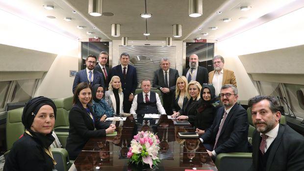Erdoğan: Rusya ile bir çatışmaya girmemize gerek yok