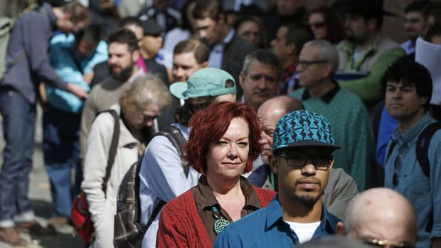 ABD'de işsizlik maaşı başvuruları Nisan'dan beri en düşük seviyede