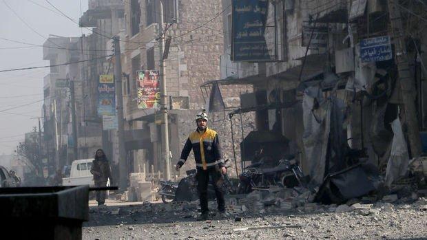Suriye'de rejim güçleri Serakib ilçesini ele geçirdi