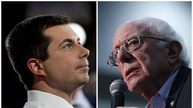 Iowa'da Demokratların ilk ön seçimini Buttigieg ile Sanders başa baş tamamladı