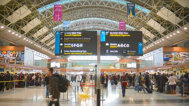 Hava yoluyla taşınan yolcu sayısı Ocak'ta 14 milyona yaklaştı