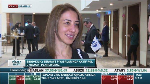 EBRD/Kılıç: Türkiye'ye en az 1 milyar euro yatırım hedefimiz var