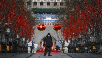 Çin'de Kovid-19 ile mücadelede banknotlar dezenfekte edil...