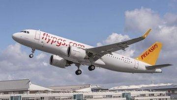 Pegasus yolcu sayısı Ocak'ta yılık % 9.4 arttı