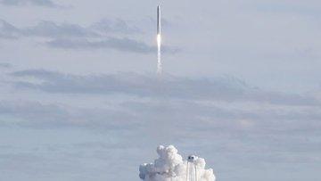 SpaceX yörüngeye 60 internet uydusu daha gönderdi