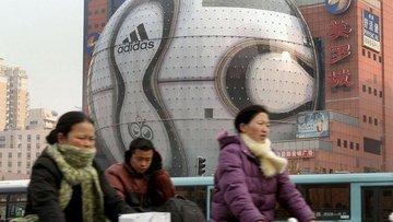 Adidas'ın Çin'deki faaliyeti yüzde 85 azaldı
