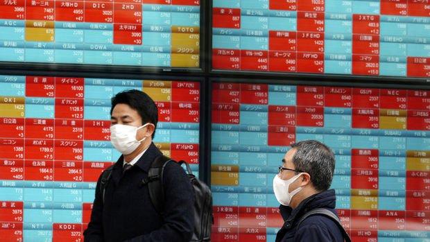 Asya borsaları devam eden virüs endişesiyle karışık seyretti